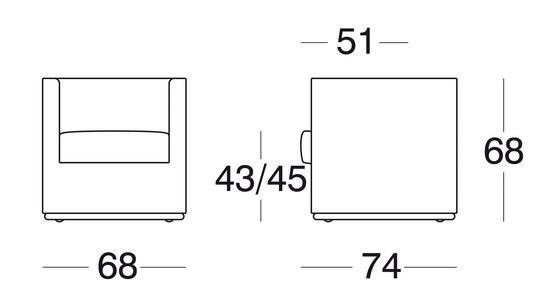 Modell 2820 Bolero von Intertime | Loungesessel