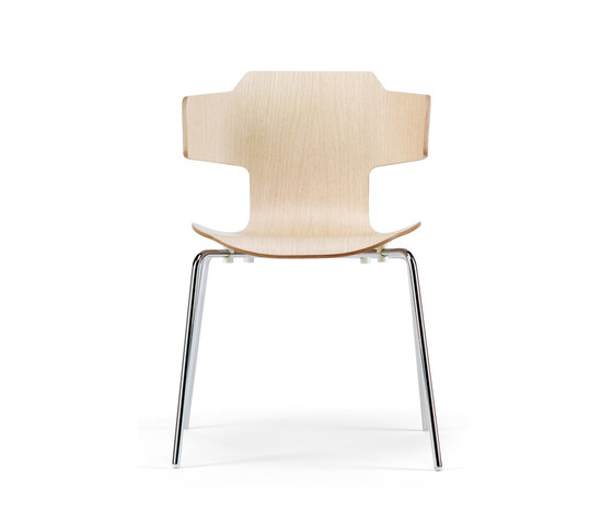 Gràcia armchair by Mobles 114 | Canteen chairs