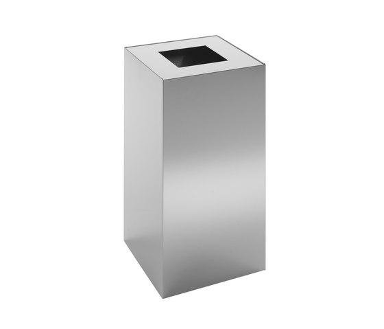 Riga | papelera alta de reciclaje inox de Mobles 114 | Cubos de basura / papeleras