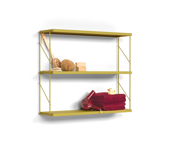 TRIA PACK wall by Mobles 114 | Shelving
