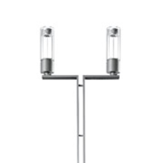 Residenza MD Pole mounted luminaire with bracket by Hess | Path lights