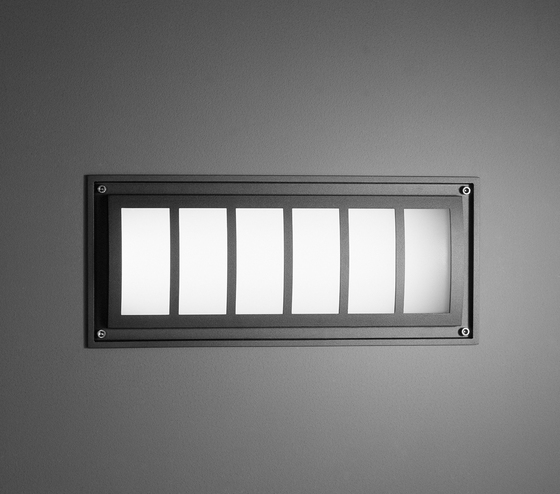 Canos ER Recessed wall luminaire by Hess | General lighting