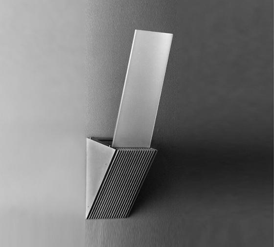 Salina B Surface mounted wall luminaire by Hess | General lighting