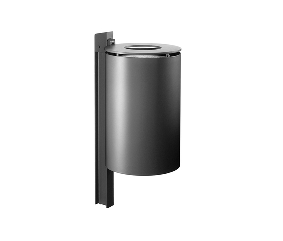 Punto 500 Waste receptacle by Hess | Exterior bins
