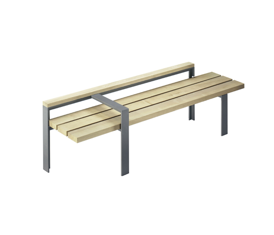 Argo E Bench by Hess | Exterior benches