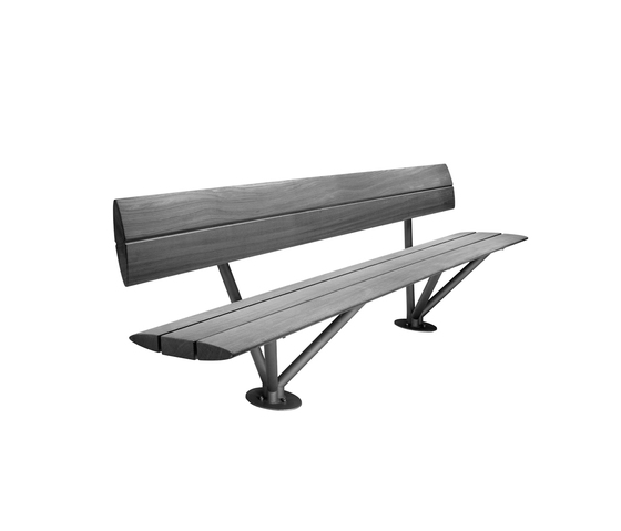 Santari Bench by Hess | Exterior benches
