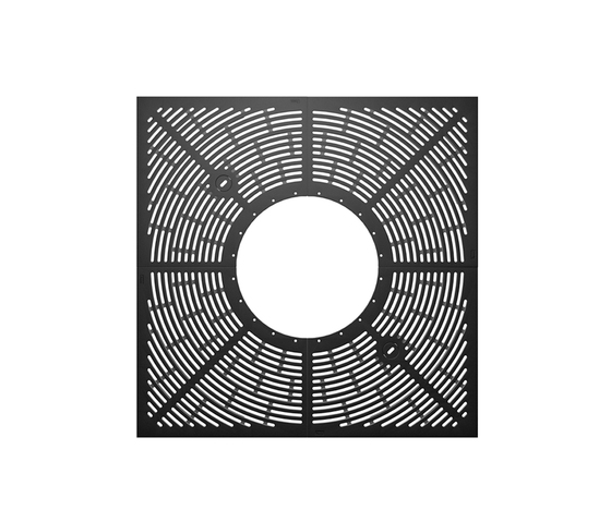 Concord 5.0 - Q1500 / R620 - 4S by Hess | Tree grates / Tree grilles