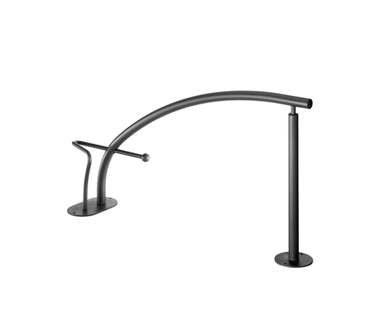 Ciani Bicycle Rack single by Hess | Bicycle stands