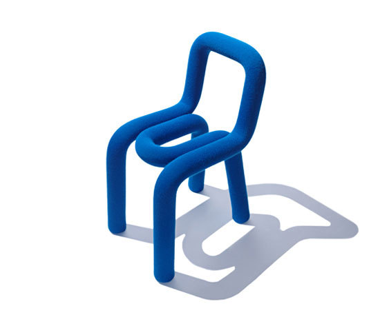 Bold chair prototype by big game product for Chaise bold big game