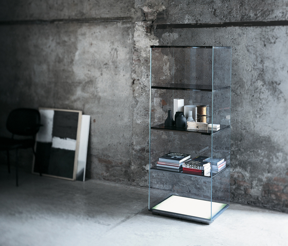 Brera by Glas Italia | Display cabinets