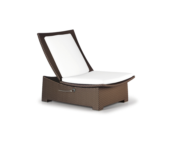 Spa Recliner XXL, adjustable by DEDON | Garden armchairs
