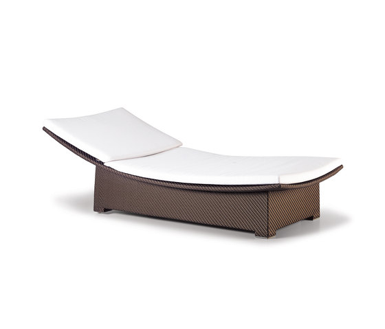 Spa Beach chair, incl. wheels by DEDON | Sun loungers