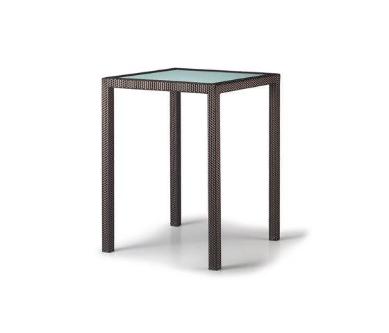 Spa Tavolo bar di DEDON | Tavoli alti da giardino
