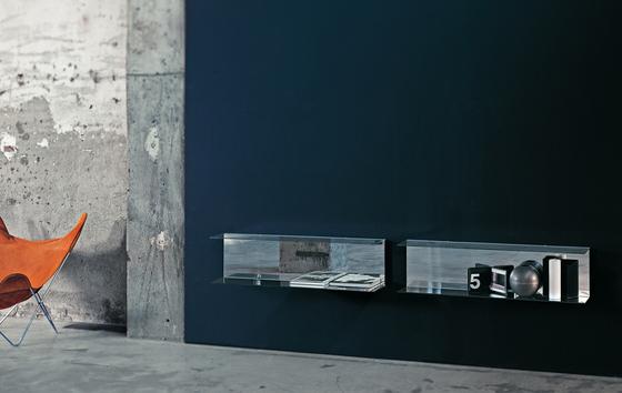 Everywhere von Glas Italia | Wandregale / Ablagen