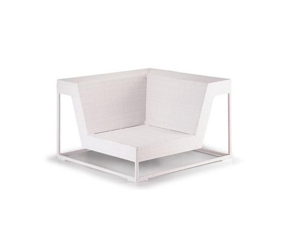 Zofa Corner module by DEDON | Garden armchairs