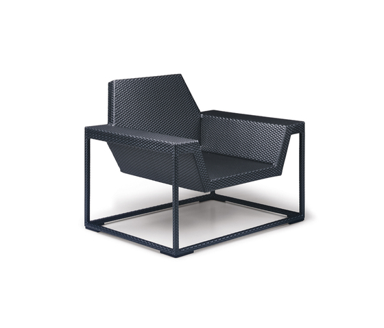 Zofa Lounge chair XS by DEDON | Garden armchairs