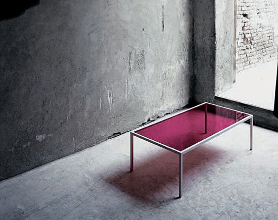 Go on Evolution 20 by Glas Italia | Lounge tables