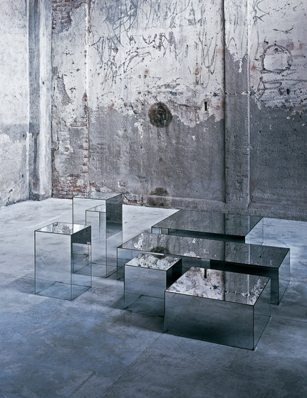 Illusion by Glas Italia | Side tables
