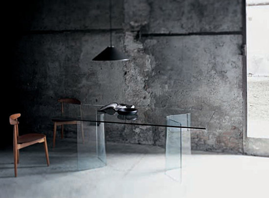 Lindos by Glas Italia | Dining tables