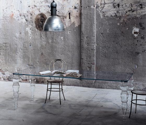 Postmodern alto di Glas Italia | Tavoli da pranzo