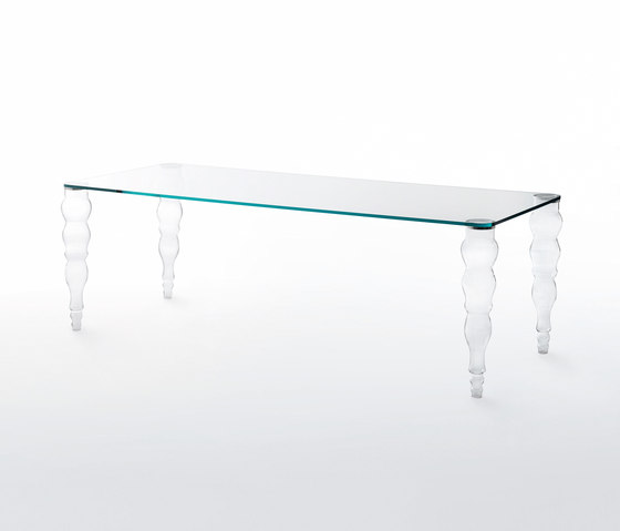 Postmodern alto by Glas Italia | Dining tables