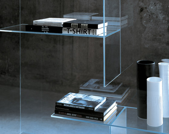 Transfix by Glas Italia | Display cabinets