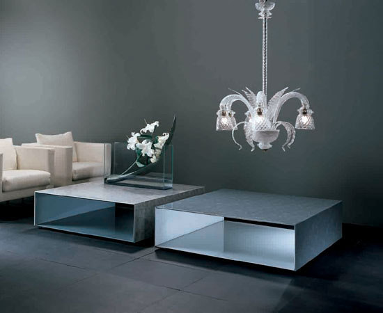Sio2 Tunnel By Glas Italia Coffee Tables
