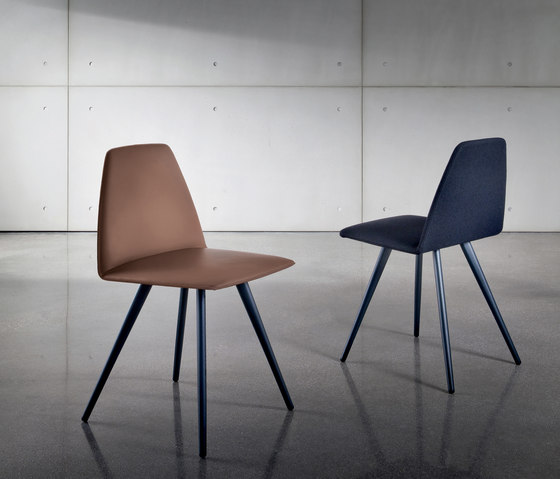 Sila Four Legs Cone Shaped by Sovet | Visitors chairs / Side chairs
