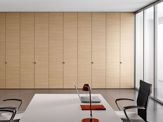 Walltech | Room Partitioning System by Estel Group | Sound absorbing architectural systems