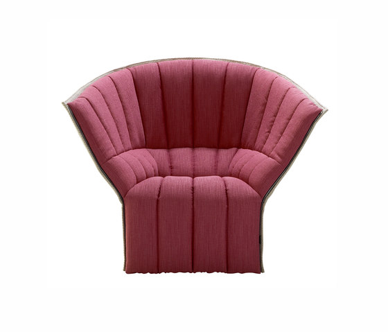 Moel | Armchair High Back Outside Back In Coda by Ligne Roset | Armchairs