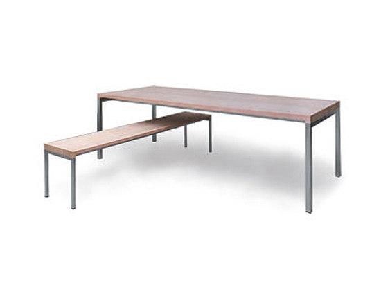 BB Tisch und Bank von spectrum meubelen | Esstische