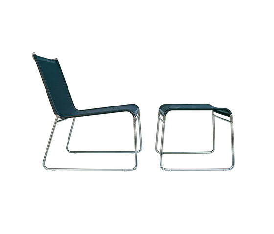 Clip low chair/fotstool by Bivaq | Garden armchairs