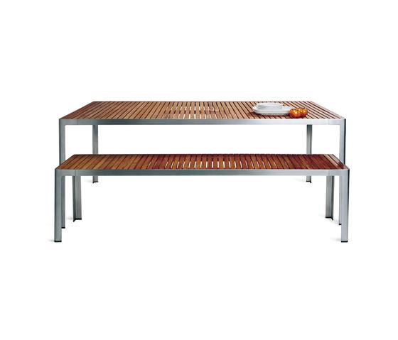 Unox table/bench by Bivaq | Garden benches