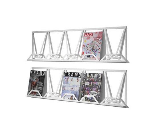 Xhibit di Mitab | Porta dépliant / riviste
