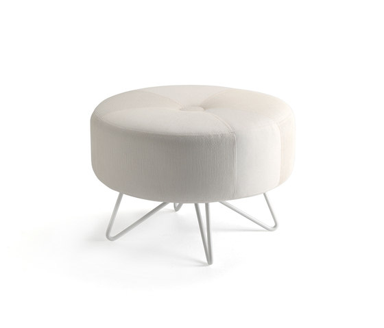 Button Small by Mitab | Poufs
