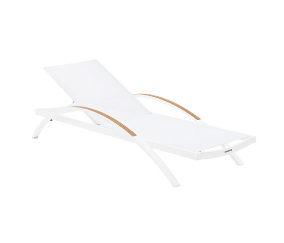 Alusion ALU 195 lounger by Royal Botania | Sun loungers