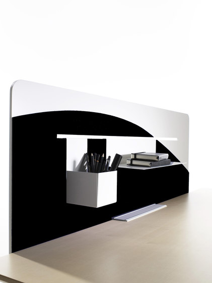 Shade Rectangular by Abstracta | Table dividers