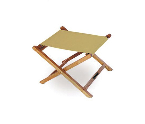 Solid Beacher BEA F 65 footrest by Royal Botania | Garden stools