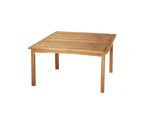 Solid Dante DAN 140 mesa de Royal Botania | Mesas de comedor de jardín