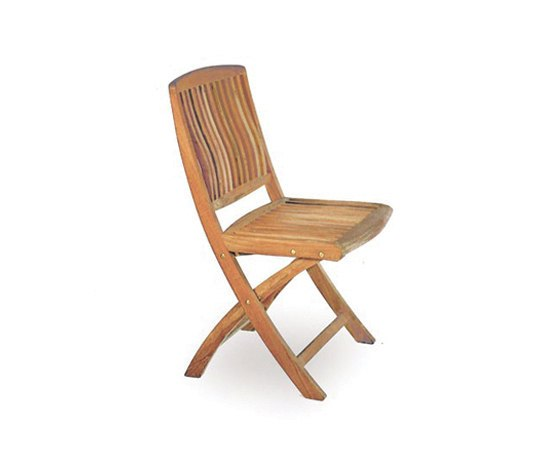 Del Rey DEL 47 Folding Chair by Royal Botania | Garden chairs