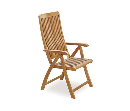 Del Rey DEL 60 Folding Recliner Chair by Royal Botania | Garden chairs