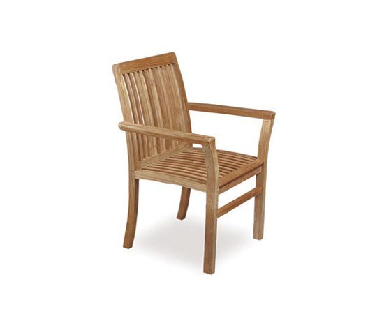 Solid Heritage HER 55 chair by Royal Botania | Garden chairs