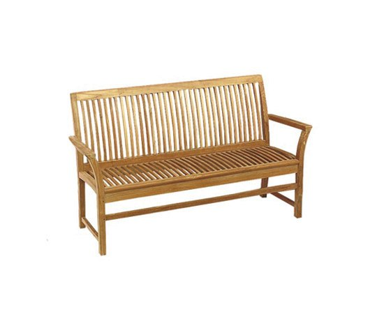 Solid Heritage HER 154 bench by Royal Botania | Garden benches