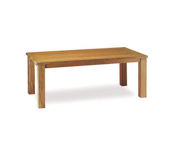 Solid Malibu MLB 180 table by Royal Botania | Dining tables