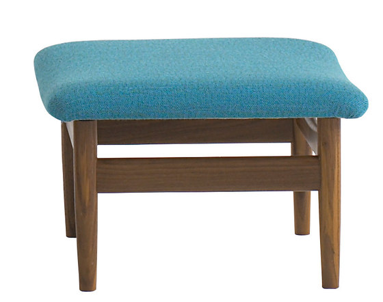 Japan Chair and Footstool by House of Finn Juhl - Onecollection   Armchairs