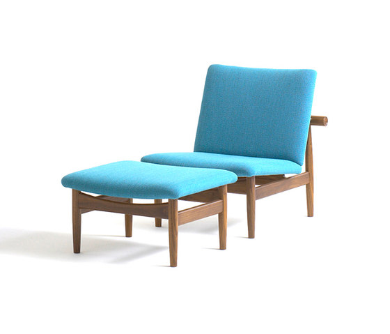 Japan Chair and Footstool di onecollection | Poltrone lounge