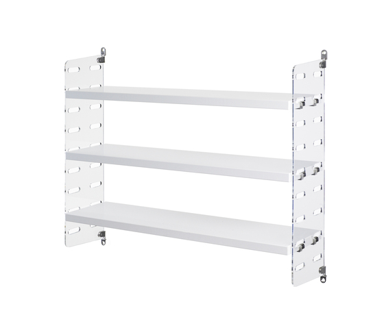 string plex pocket white by string furniture | CD racks