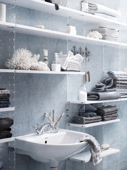 string plex by string furniture | Bath shelving