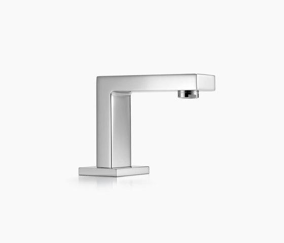 Symetrics - Salida vertical para lavabo de Dornbracht | Grifería para lavabos