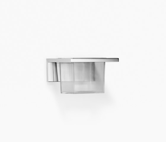 Symetrics - Vaso de cristal de Dornbracht | Portacepillos / portavasos